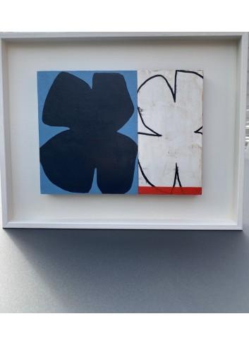 Duo de formes black and white N-16 Françoise Danel