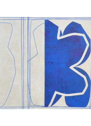 Bleue Françoise Danel