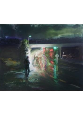 After rain. Peinture de  Régis Rizzo