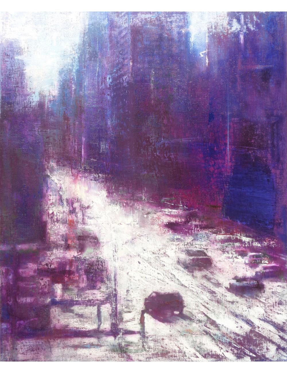 Neige III, 2018 peinture de Régis Rizzo