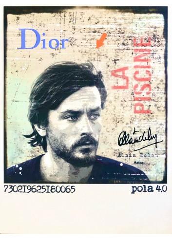 Alain Delon n°1/8 Pola 4.0