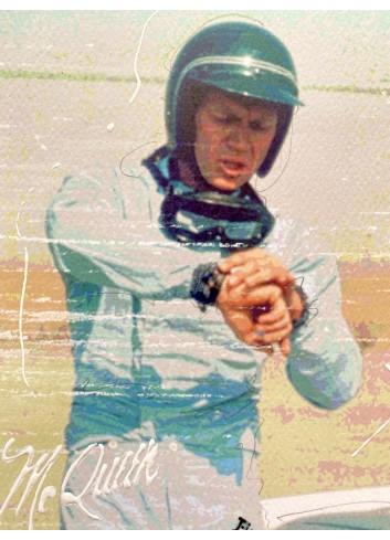 Steve McQueen 180057 n°28/50 Pola 4.0